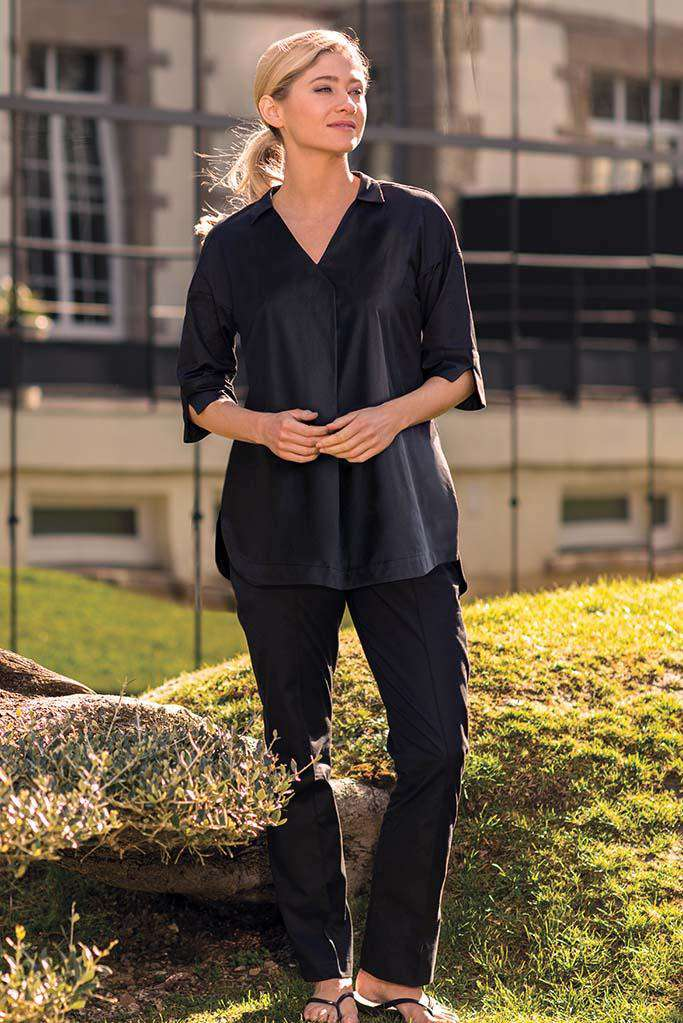 Sarin Spa Trousers Black - Fashionizer Spa