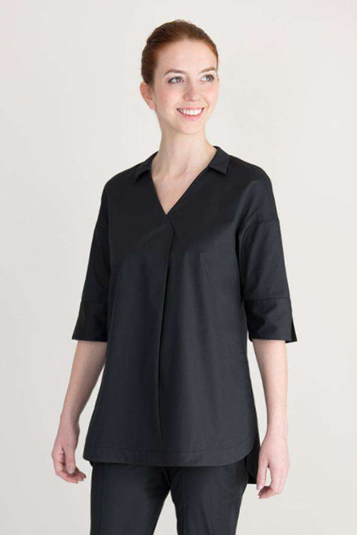 black spa shirt