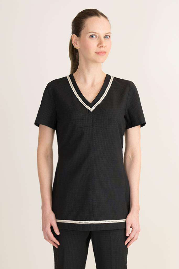 Xena Spa Tunic Black - Fashionizer Spa