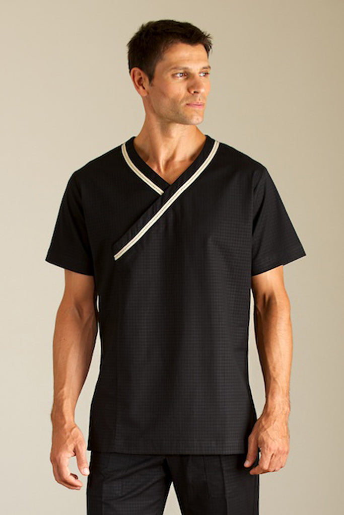 mens spa black uniform