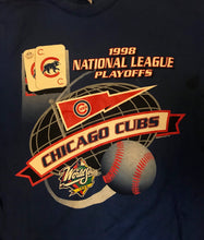 Load image into Gallery viewer, 1998 Chicago Cubs Playoffs Tee-Locker Room Clt