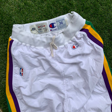 Load image into Gallery viewer, 1994/1995 Utah Jazz Pro Cut/Team Issued Warm Up Pants-Locker Room Clt