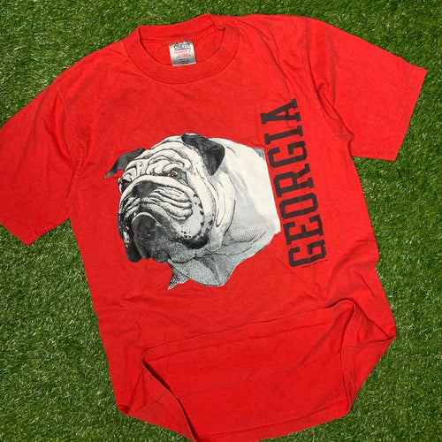 1990 Georgia Bulldogs Vintage College Tee (Large)-Locker Room Clt
