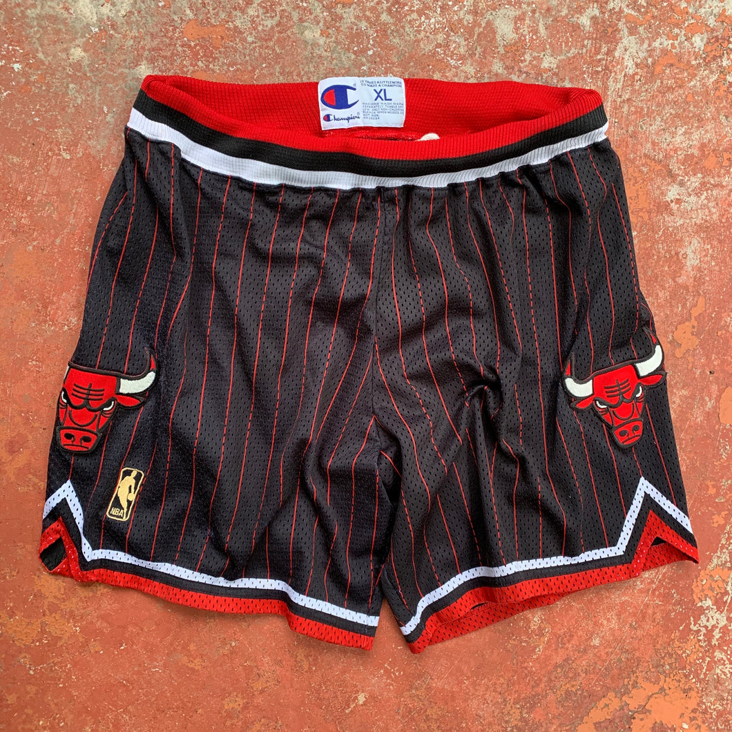 1996/1997 Chicago Bulls Authentic NBA Shorts by Champion-Locker Room Clt