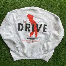 Load image into Gallery viewer, 90's Michael Jordan Golf Why Fly Big Logo Crewneck by Nike-Locker Room Clt