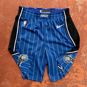2018/19 Orlando Magic Road Pro Cut/Team Issued NBA Shorts by Nike-Locker Room Clt
