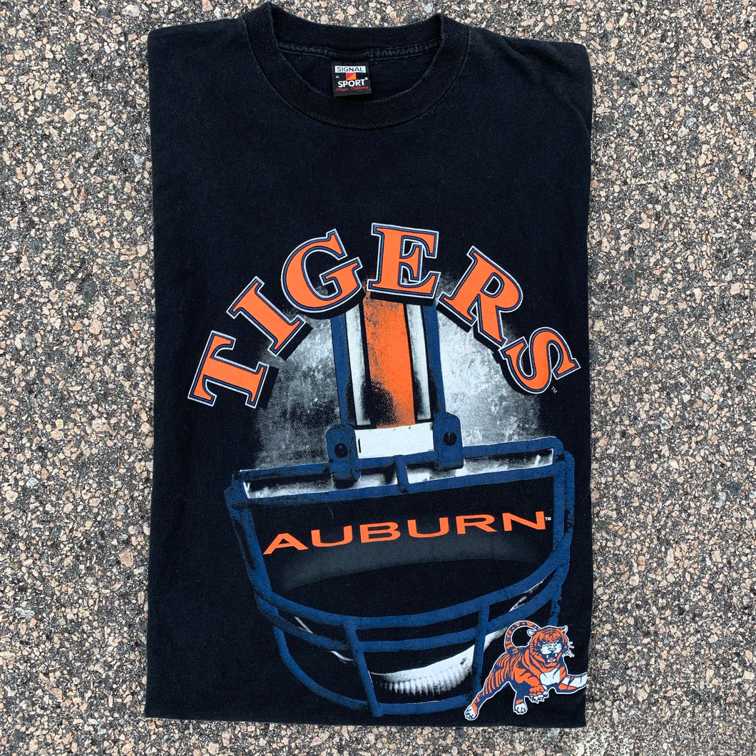 90's Auburn Tigers Vintage Tee-Locker Room Clt