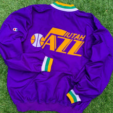 Load image into Gallery viewer, 1993/1994 Utah Jazz Team Issued/Pro Cut NBA Warm Up by Champion-Locker Room Clt