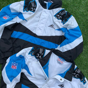 90's Carolina Panthers Big Logo Jacket by Apex One-Locker Room Clt