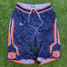Load image into Gallery viewer, 2014/2015 Auburn Tigers Team Issued College Basketball Shorts-Locker Room Clt