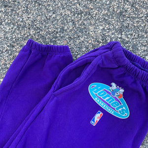1997/98 Charlotte Hornets Team Issued Sweatpants by Starter-Locker Room Clt