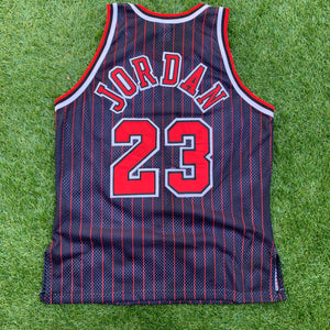 1996/1997 Michael Jordan Chicago Bulls 50th Anniversary Authentic by Champion (XL)-Locker Room Clt