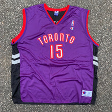 Load image into Gallery viewer, 90s Vintage Vince Carter Toronto Raptors NBA Jersey by Champion (2XL)-Locker Room Clt