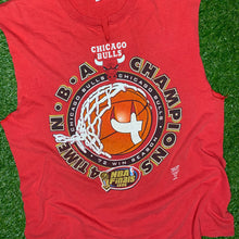 Load image into Gallery viewer, 1996 Chicago Bulls NBA Finals Champions Tee (XL)-Locker Room Clt