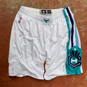 2015/16 Charlotte Hornets Home Pro Cut/Team Issued NBA Shorts (2XL)-Locker Room Clt