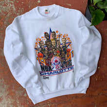 Load image into Gallery viewer, 1991 Charlotte NBA All-Star Weekend Caricature Vintage Crewneck - Brand New-Locker Room Clt