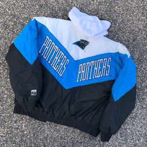 90's Carolina Panthers Vintage Jacket by Logo 7-Locker Room Clt