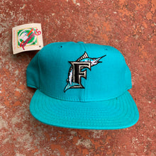 Load image into Gallery viewer, 90's Florida Marlins Wool Grey Brim New Era Fitted (7 1/4) - Brand New-Locker Room Clt