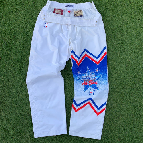 1991 Charlotte NBA All-Star East Warm Up Pants - Brand New (XXL)-Locker Room Clt