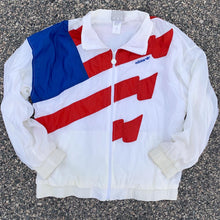 Load image into Gallery viewer, 80's Adidas USA Flag Windbreaker (Large)-Locker Room Clt