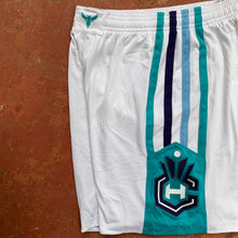 Load image into Gallery viewer, 2015/16 Charlotte Hornets Home Pro Cut/Team Issued NBA Shorts-Locker Room Clt