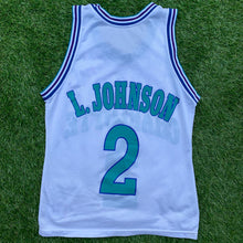Load image into Gallery viewer, 90's Larry Johnson Charlotte Hornets NBA Jersey by Champion-Locker Room Clt