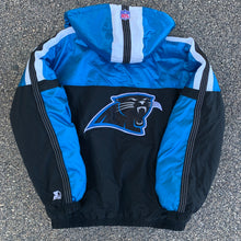 Load image into Gallery viewer, 90's Carolina Panthers Colorblocked Puffer by Starter-Locker Room Clt