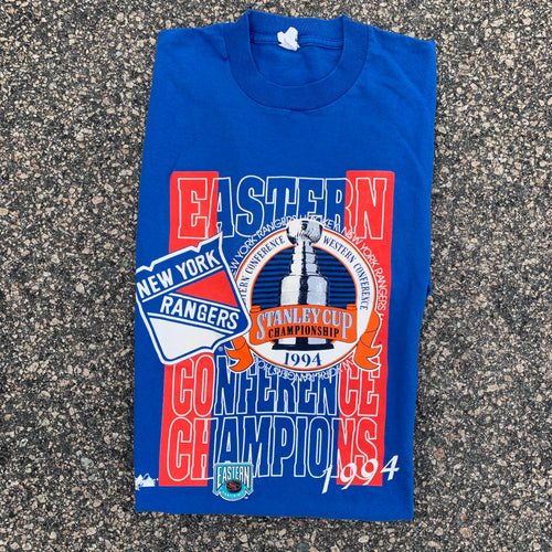 1994 New York Rangers Stanley Cup Vintage Tee (XL)-Locker Room Clt