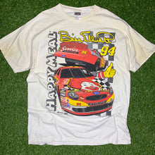 Load image into Gallery viewer, 1998 Bill Elliott McDonalds Happy Meal NASCAR Tee (XL)-Locker Room Clt
