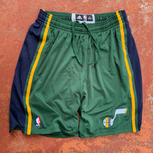 Load image into Gallery viewer, 2011/2012 Utah Jazz Alternate Pro Cut/Team Issued NBA Shorts by Adidas (2XL)-Locker Room Clt