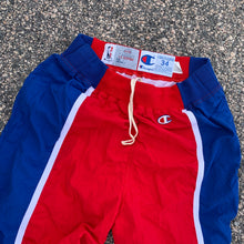 Load image into Gallery viewer, 1993/1994 Los Angeles Clippers Pro Cut Team Issued Warm Up Pants by Champion (Large)-Locker Room Clt