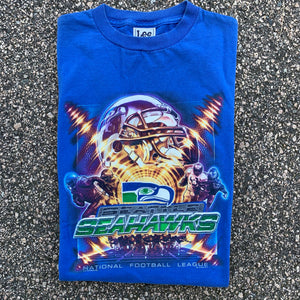 2000 Seattle Seahawks Vintage NFL Tee-Locker Room Clt