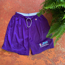 Load image into Gallery viewer, 90's Utah Jazz Team Issued Practice Shorts by Champion-Locker Room Clt