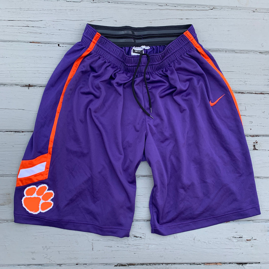 2012/13 Clemson Tigers Team Issued College Game Shorts-Locker Room Clt