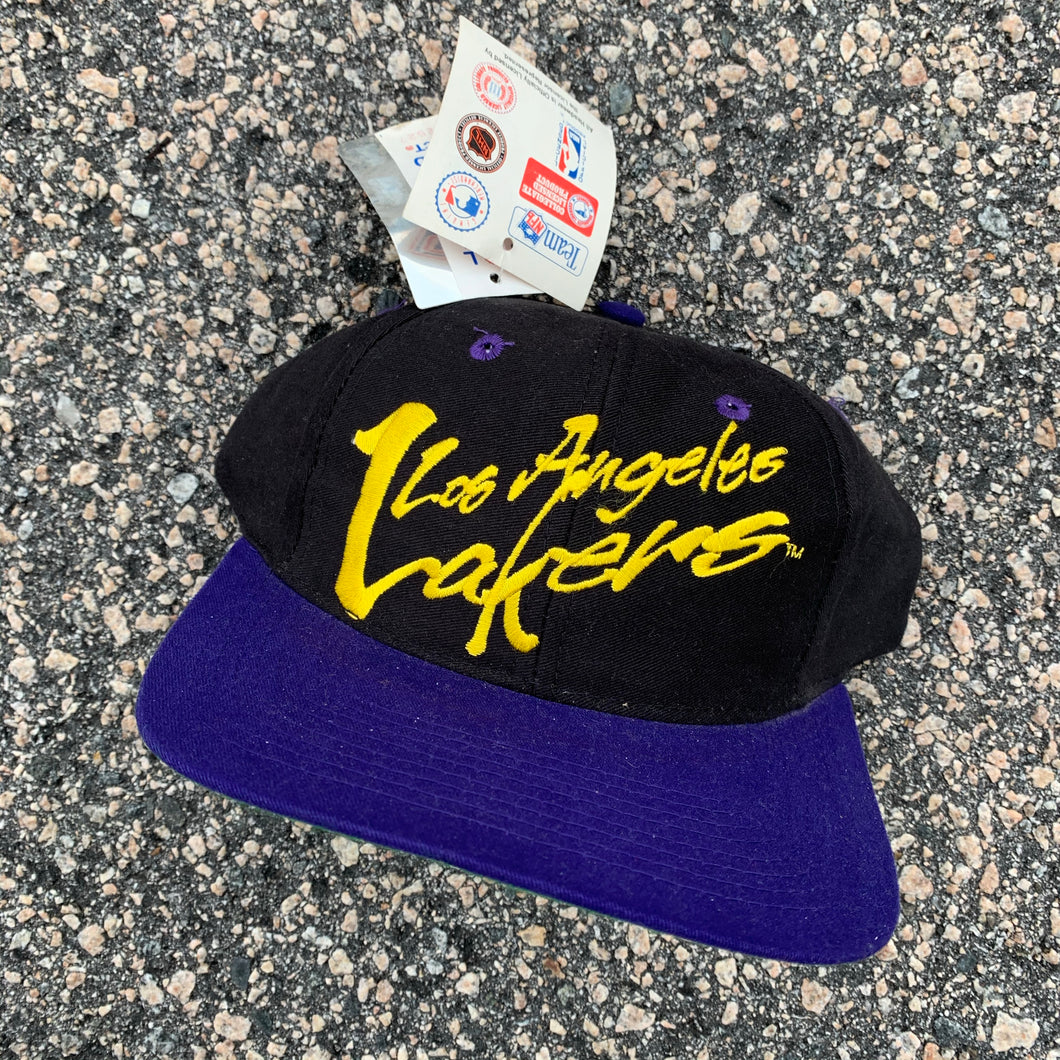 Los Angeles Lakers Snapback Hat - Brand New-Locker Room Clt
