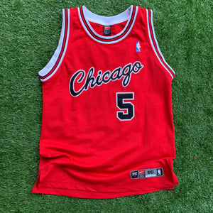 2000's Jalen Rose Chicago Bulls Authentic NBA Jersey by Nike-Locker Room Clt
