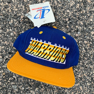 90's Golden State Warriors Snapback Hat - Brand New-Locker Room Clt