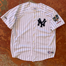 Load image into Gallery viewer, 2000 New York Yankees MLB World Series Jersey-Locker Room Clt