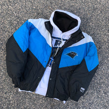 Load image into Gallery viewer, 90's Carolina Panthers Vintage Jacket by Logo 7 (Large)-Locker Room Clt