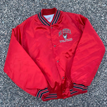 Load image into Gallery viewer, 90's North Carolina NC State Satin Jacket-Locker Room Clt