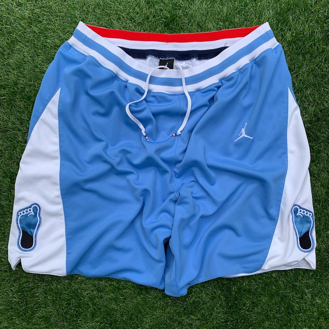 "1982 UNC/North Carolina Tar Heels ""Eighty-Two"" Retro College Basketball Shorts (XL)-Locker Room Clt"