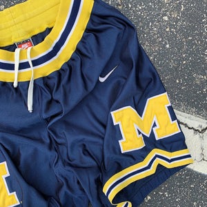 90's Michigan Wolverines Fab 5 Era Shorts by Nike-Locker Room Clt