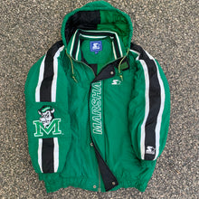 Load image into Gallery viewer, 90's Marshall Thundering Herd Vintage NCAA Starter Jacket (Large)-Locker Room Clt