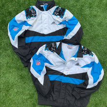Load image into Gallery viewer, 90's Carolina Panthers Big Logo Jacket by Apex One (XL)-Locker Room Clt