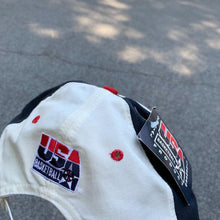 Load image into Gallery viewer, 90's USA Basketball Dream Pinwheel Snapback Hat - Brand New-Locker Room Clt