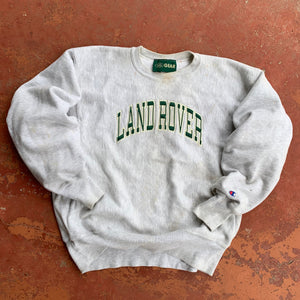 90's Land Rover Reverse Weave Crewneck by Champion-Locker Room Clt
