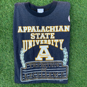 90's Appalachian State Mountaineers Tee - Brand New (Large and XL)-Locker Room Clt