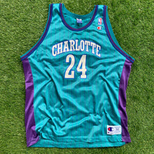 Load image into Gallery viewer, 90's Jamal Mashburn Charlotte Hornets NBA Jersey by Champion-Locker Room Clt