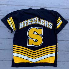 Load image into Gallery viewer, 90's Pittsburgh Steelers All Over Print Vintage Tee-Locker Room Clt
