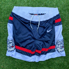 Load image into Gallery viewer, 90's UCONN/Connecticut Huskies Heavy Mesh Authentic Shorts by Nike (Ray Allen Era)-Locker Room Clt